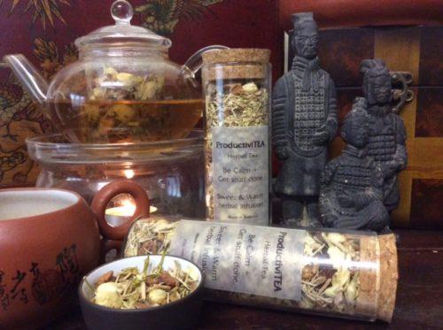 herbal tea for study, memory